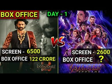 Avengers Endgame 1st Day Box Office Collection, Avengers Endgame Box Office Collection Day 1
